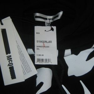 Alexander McQueen Shirts - McQ Alexander McQueen Block Swallow Hoodie Mens